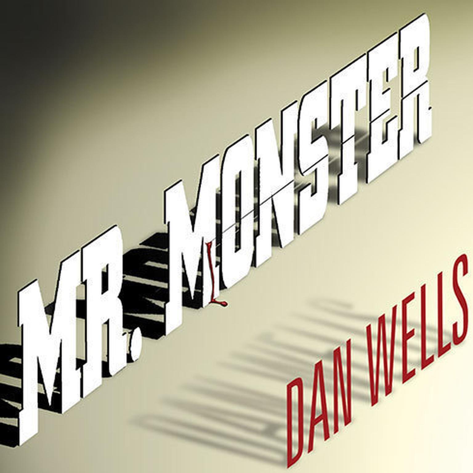 Printable Mr. Monster Audiobook Cover Art
