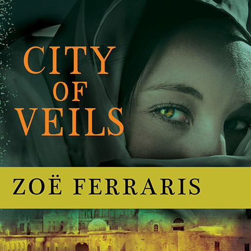 Printable City of Veils: A Novel Audiobook Cover Art