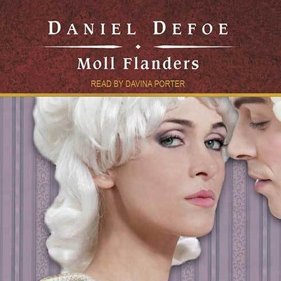 Printable Moll Flanders Audiobook Cover Art