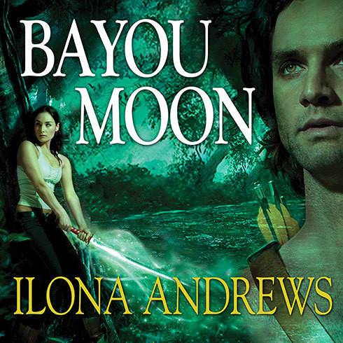 Printable Bayou Moon Audiobook Cover Art