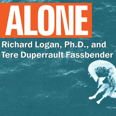 Printable Alone: Orphaned on the Ocean Audiobook Cover Art