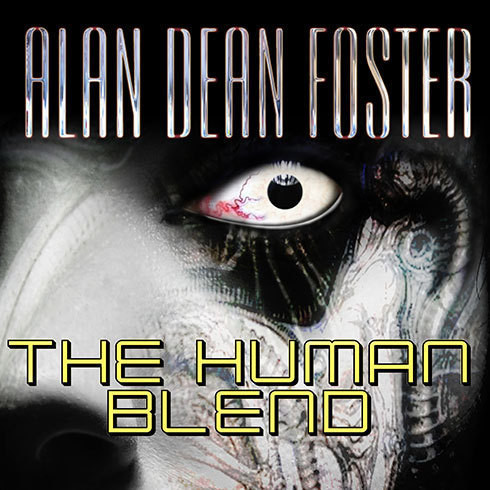 Printable The Human Blend Audiobook Cover Art