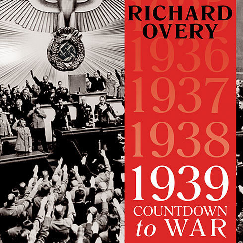 Printable 1939: Countdown to War Audiobook Cover Art