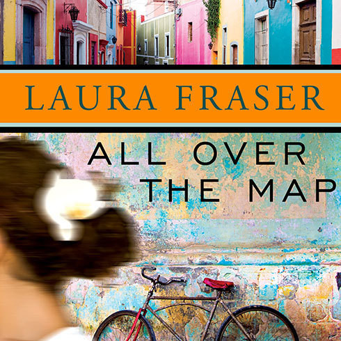 Printable All Over the Map Audiobook Cover Art