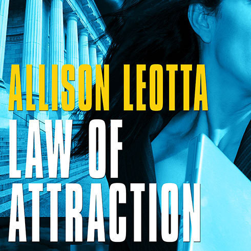 Printable Law of Attraction: A Novel Audiobook Cover Art
