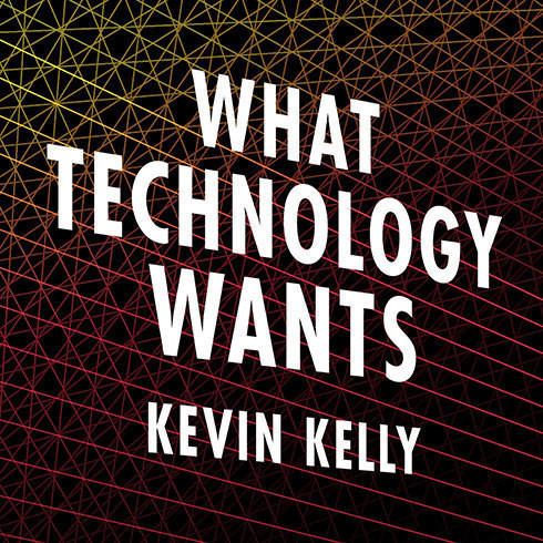 Printable What Technology Wants Audiobook Cover Art
