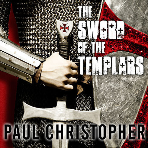 Printable The Sword of the Templars Audiobook Cover Art