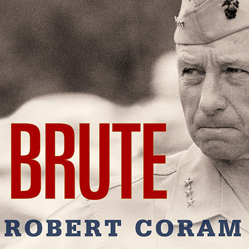 Printable Brute: The Life of Victor Krulak, US Marine Audiobook Cover Art