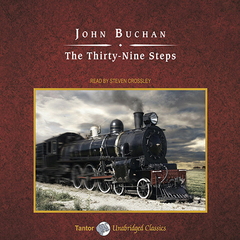 Printable The Thirty-Nine Steps Audiobook Cover Art