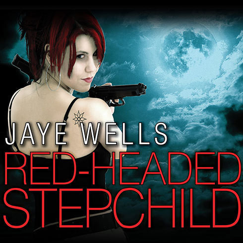 Printable Red-Headed Stepchild Audiobook Cover Art