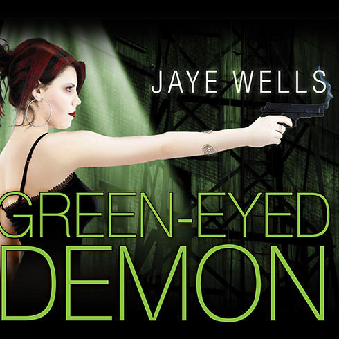 Printable Green-Eyed Demon Audiobook Cover Art