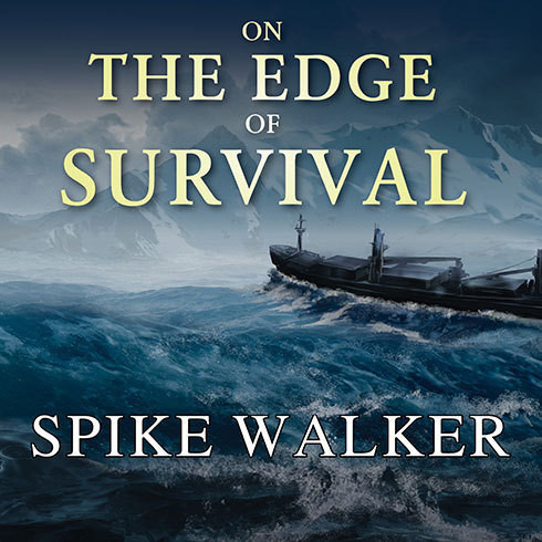 Printable On the Edge of Survival: A Shipwreck, a Raging Storm, and the Harrowing Alaskan Rescue That Became a Legend Audiobook Cover Art