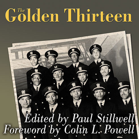 Printable The Golden Thirteen: Recollections of the First Black Naval Officers Audiobook Cover Art