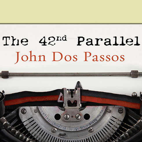 Printable The 42nd Parallel Audiobook Cover Art
