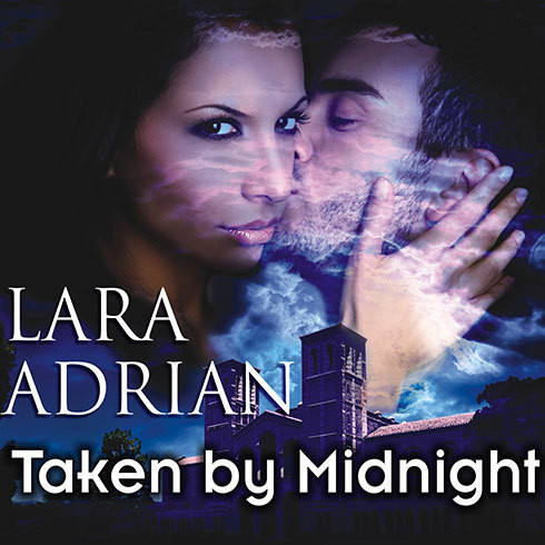 Printable Taken by Midnight Audiobook Cover Art