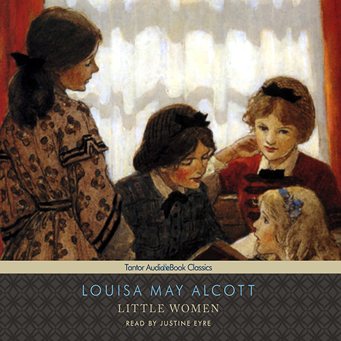 Printable Little Women Audiobook Cover Art