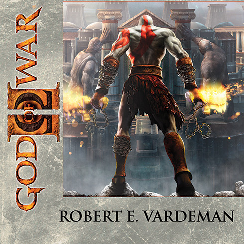 Printable God of War II Audiobook Cover Art