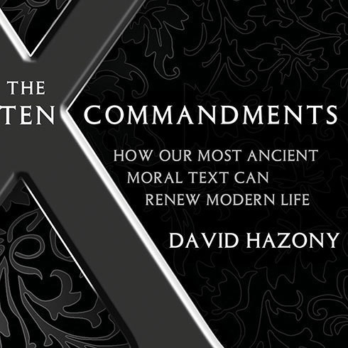 Printable The Ten Commandments: How Our Most Ancient Moral Text Can Renew Modern Life Audiobook Cover Art
