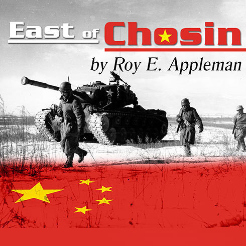 Printable East of Chosin: Entrapment and Breakout in Korea, 1950 Audiobook Cover Art