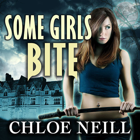 Printable Some Girls Bite Audiobook Cover Art