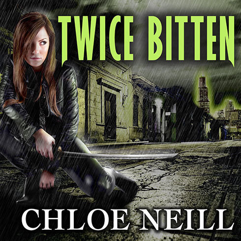 Printable Twice Bitten: A Chicagoland Vampires Novel Audiobook Cover Art