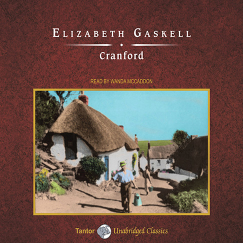 Printable Cranford Audiobook Cover Art