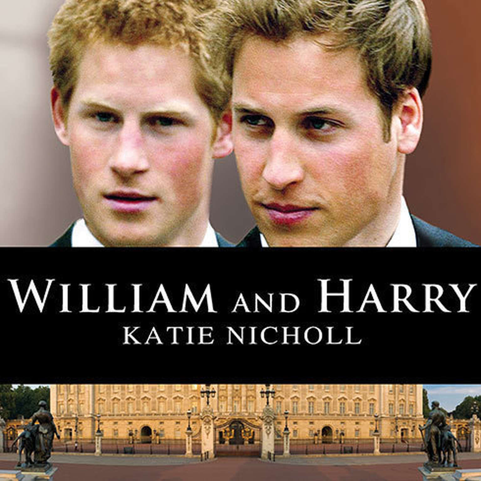 Printable William and Harry Audiobook Cover Art