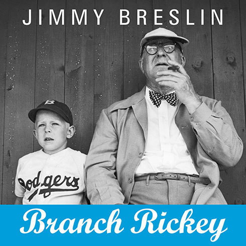 Printable Branch Rickey Audiobook Cover Art