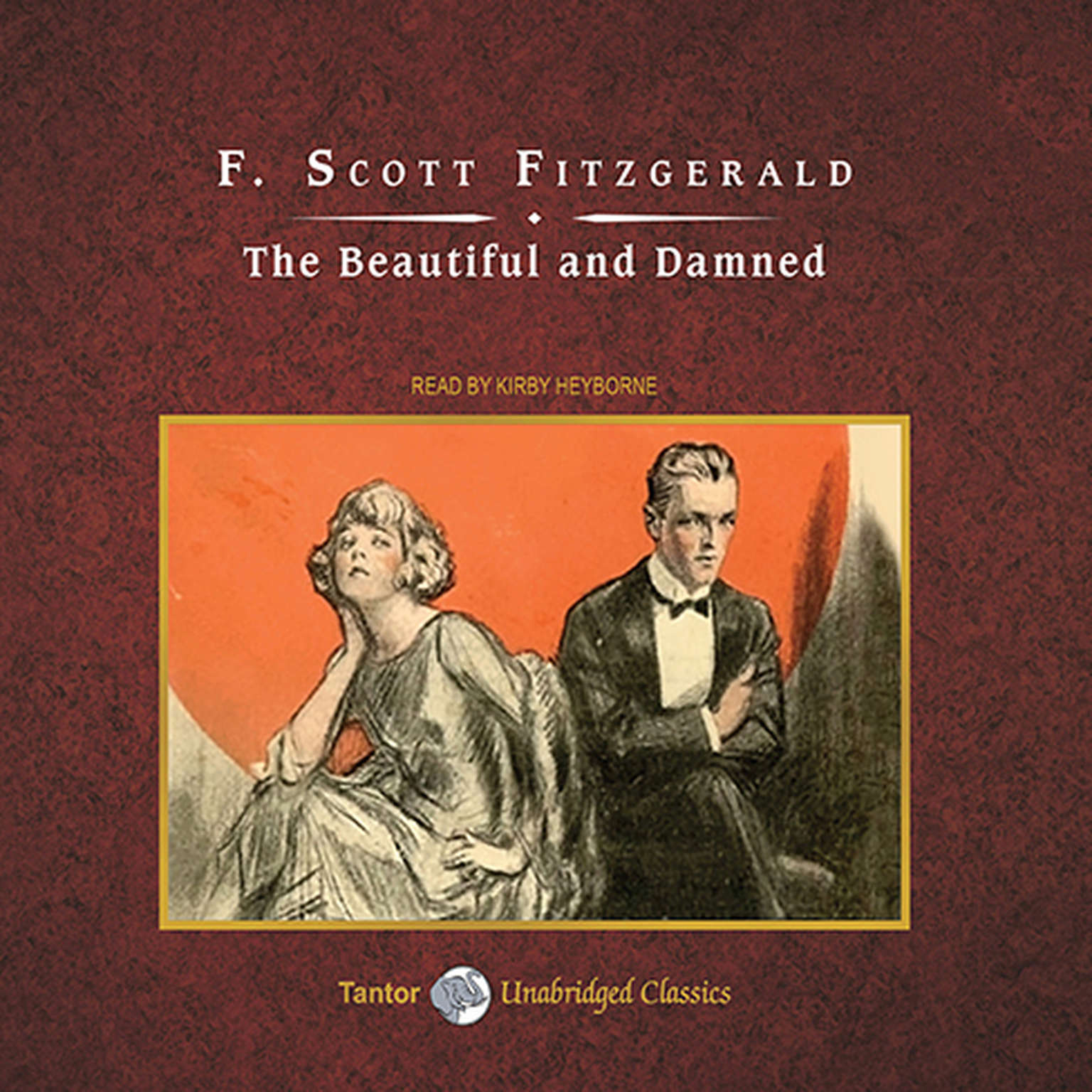 Printable The Beautiful and Damned Audiobook Cover Art