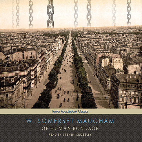 Printable Of Human Bondage Audiobook Cover Art