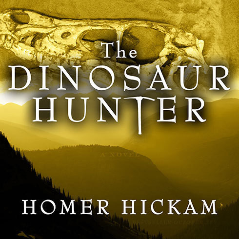 Printable The Dinosaur Hunter: A Novel Audiobook Cover Art
