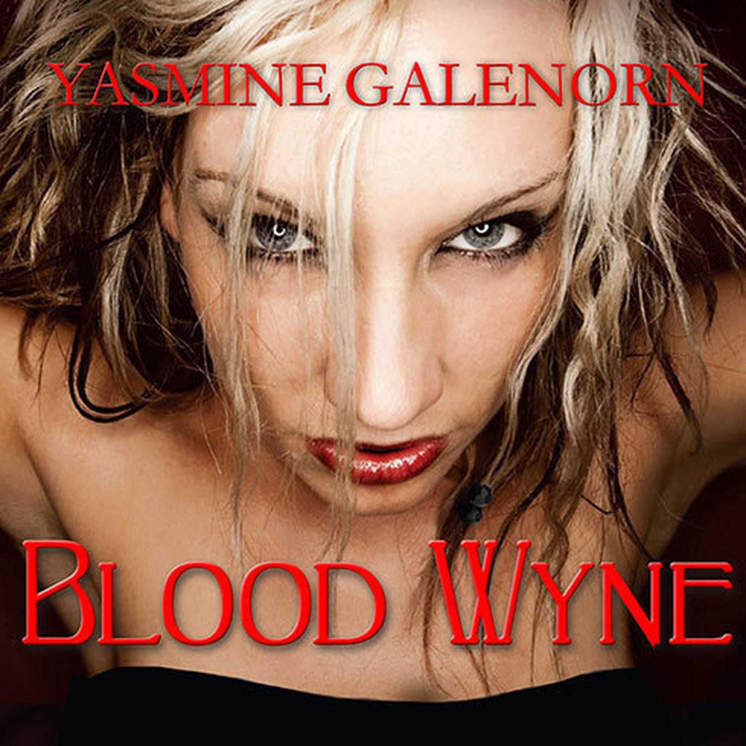 Printable Blood Wyne Audiobook Cover Art