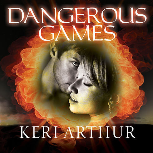 Printable Dangerous Games Audiobook Cover Art