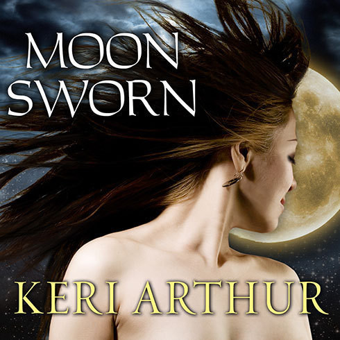 Printable Moon Sworn Audiobook Cover Art
