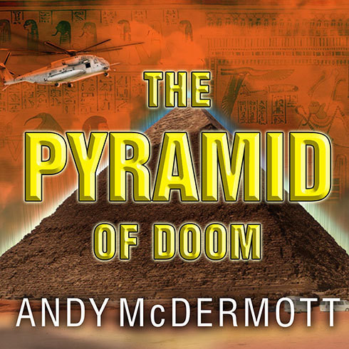 Printable The Pyramid of Doom: A Novel Audiobook Cover Art