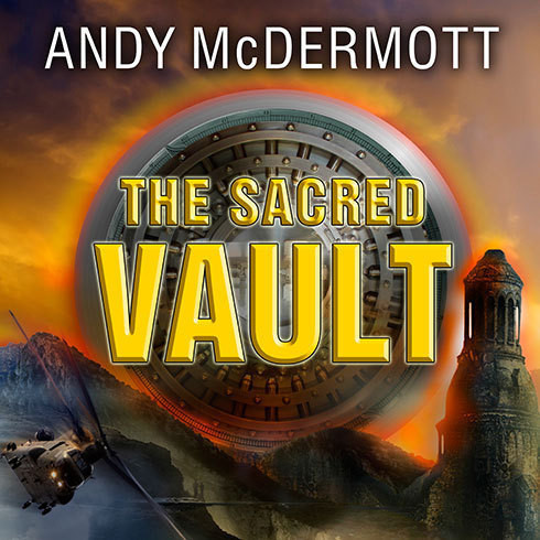 Printable The Sacred Vault: A Novel Audiobook Cover Art