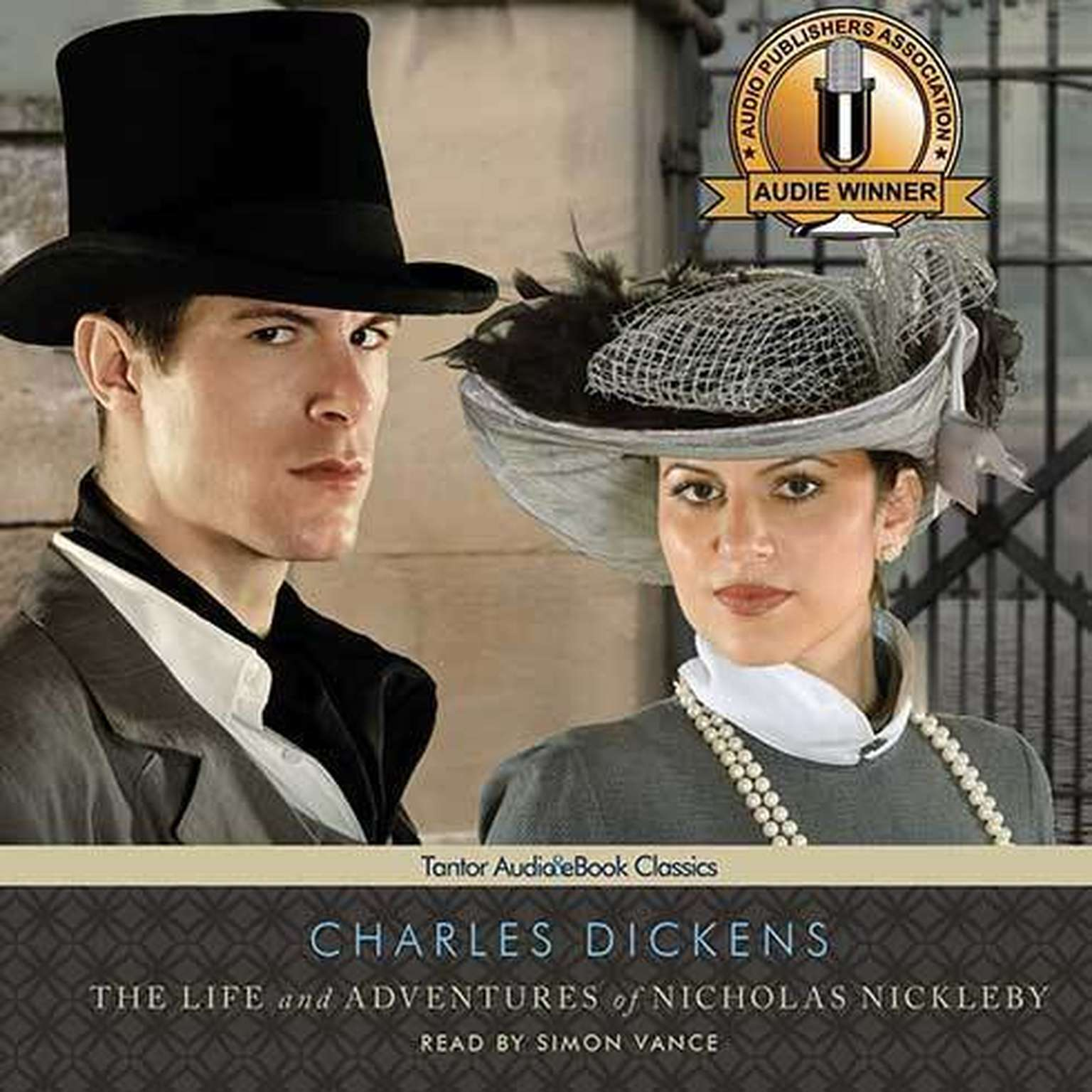 Printable The Life and Adventures of Nicholas Nickleby Audiobook Cover Art
