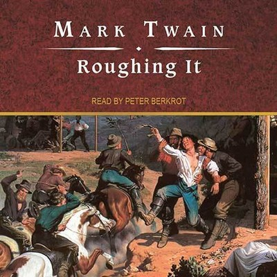 Printable Roughing It Audiobook Cover Art