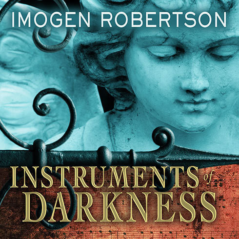 Printable Instruments of Darkness: A Novel Audiobook Cover Art