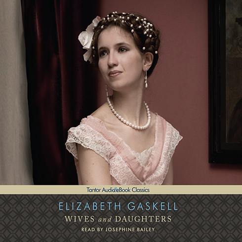 Printable Wives and Daughters Audiobook Cover Art