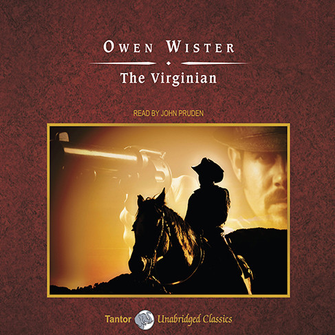 Printable The Virginian Audiobook Cover Art