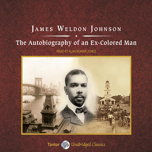 Printable The Autobiography of an Ex-Colored Man Audiobook Cover Art