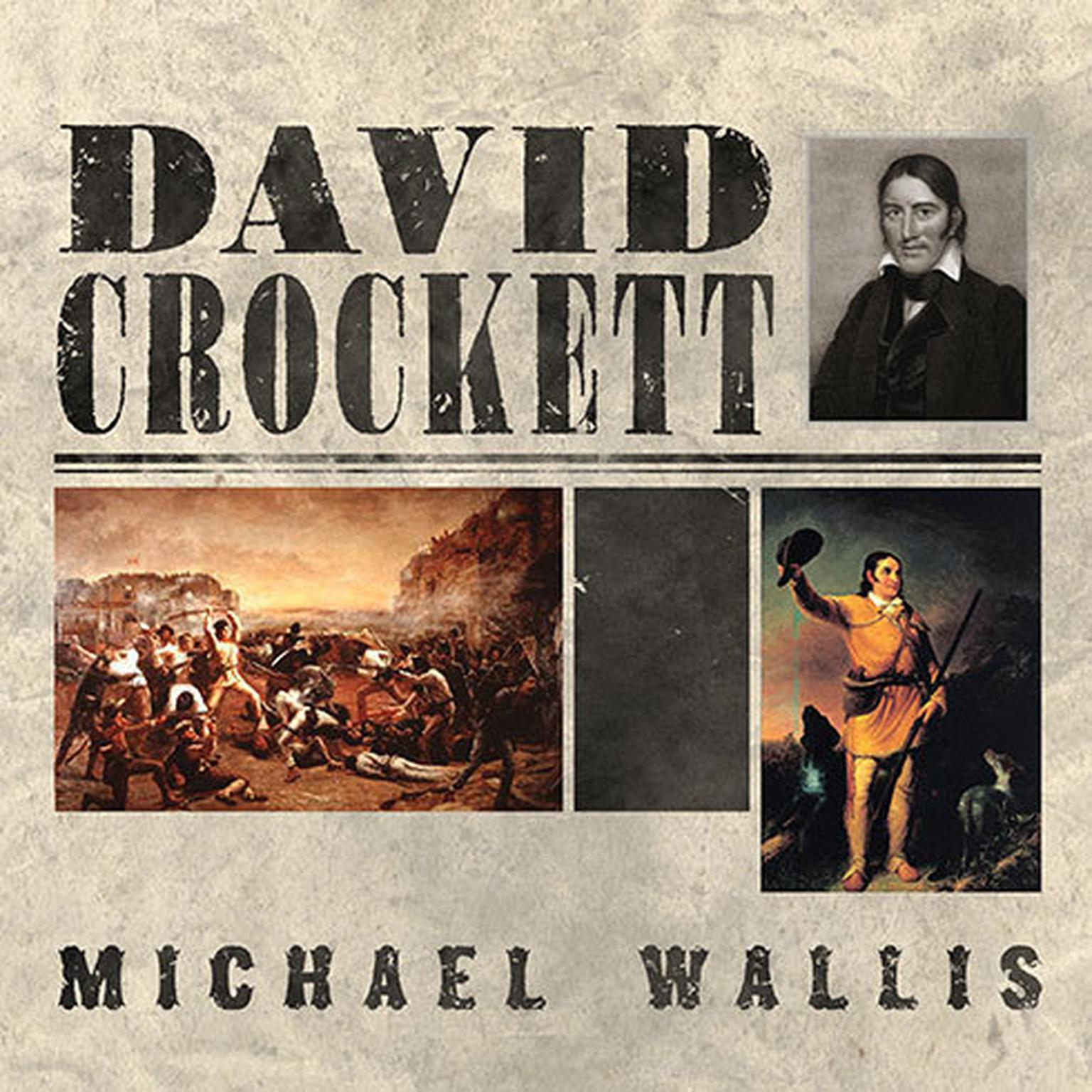 Printable David Crockett: The Lion of the West Audiobook Cover Art