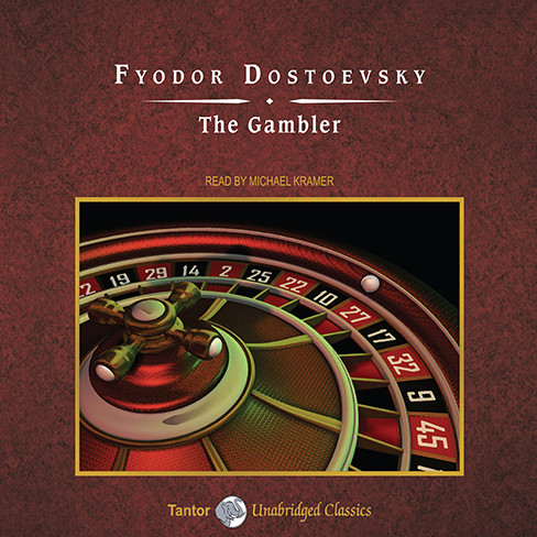 Printable The Gambler Audiobook Cover Art