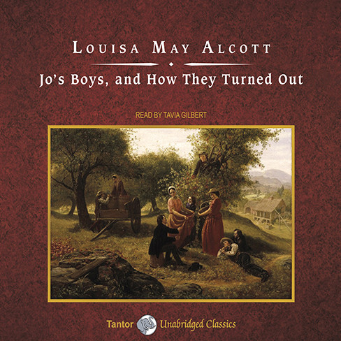 Printable Jo's Boys, and How They Turned Out: A Sequel Audiobook Cover Art