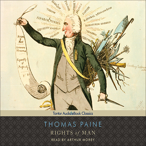 Printable Rights of Man Audiobook Cover Art