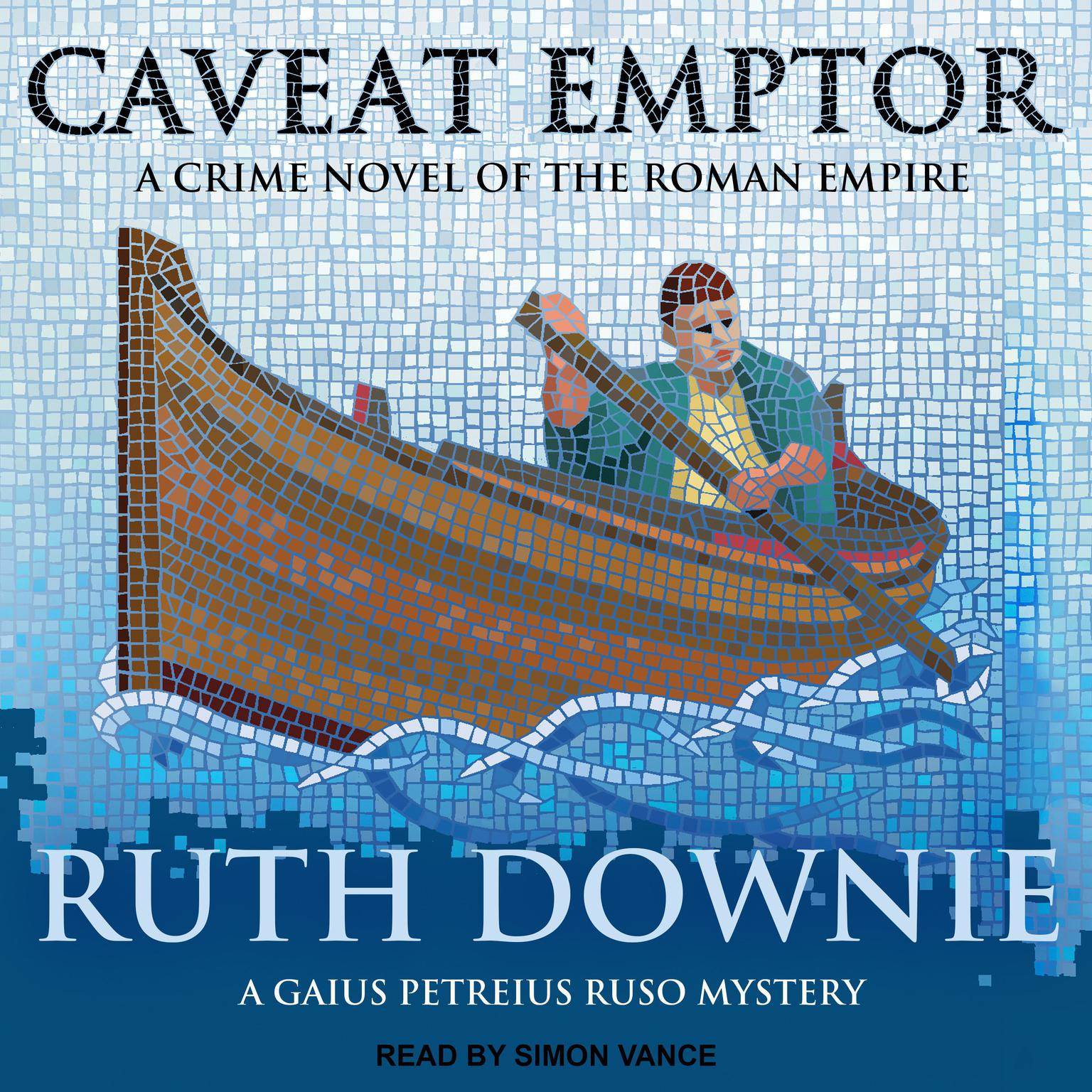 Printable Caveat Emptor: A Novel of the Roman Empire Audiobook Cover Art