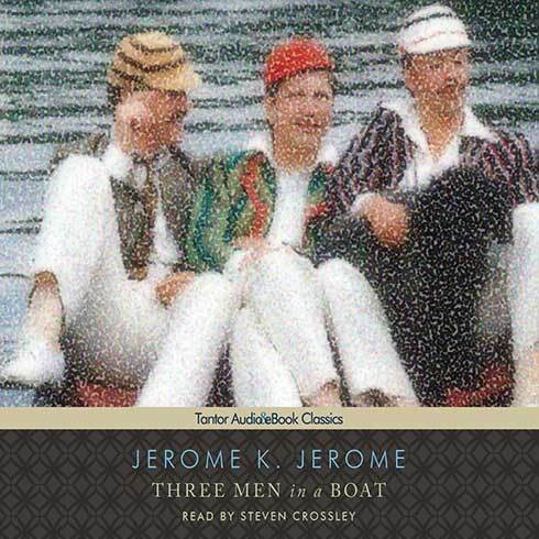Printable Three Men in a Boat (To Say Nothing of the Dog) Audiobook Cover Art