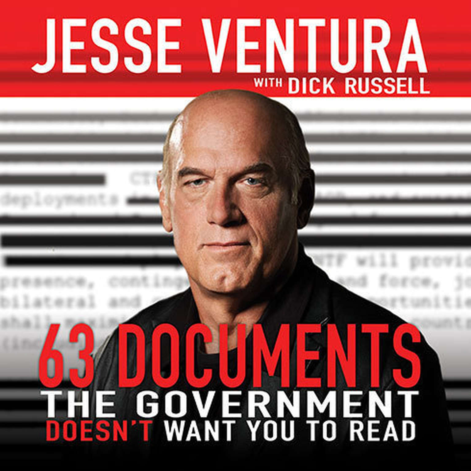 Printable 63 Documents the Government Doesn't Want You to Read Audiobook Cover Art