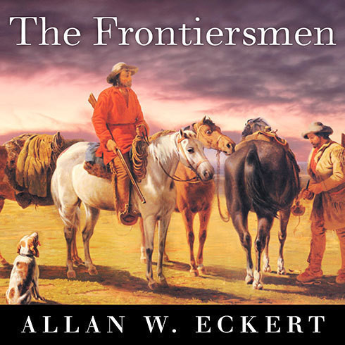 Printable The Frontiersmen: A Narrative Audiobook Cover Art